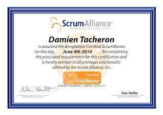 Certification ScrumMaster